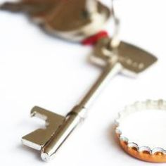 Key Bottle Opener, Beer Opener, Key Rings, Beer Bottle, Shapes, Crafty, Personalized Items, Gifts, Presents
