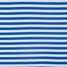 Blue/white stripe cotton jersey (Mood Fabrics)