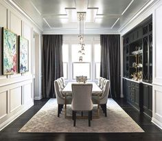 A Dining Room With Sophistication Dining Transitional By CM Natural Designs