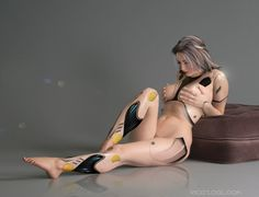 Cyberpunk, Android, Futuristic, Robot Girl, v2 by ~Rigozoolook on deviantART