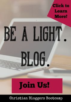 https://www.coursecraft.net/c/ChristianBloggersBootcamp/splash  Troubled by the headlines? Be salt and light by blogging hope and truth! Click the link to see how your blog can effectively impact your culture.