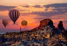 The Latest Destination Wedding And Honeymoon Trends Cave House, Istanbul, Star Wars Personajes, Capadocia, Wedding Honeymoons, Honeymoon Destinations, Honeymoon Trends, Fairy Land, Antalya