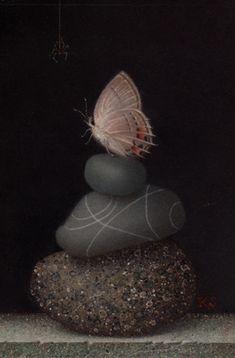 Koo Schadler: Portfolio: Egg Tempera Nature I