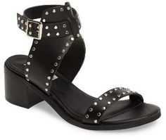 Studded sandals in black and brown under $90. Women's Steve Madden Gila Sandal