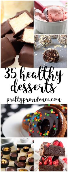 Eating healthy doesn't have to be a chore! These delicious healthy dessert recipes will make indulging in a sweet treat fun and guilt free!