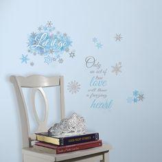 """Disney's Frozen """"Let It Go"""" Wall Stickers"""