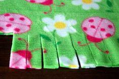 d141070e27 Fringed Fleece Blankets. Pink Polka DotsFleece ...