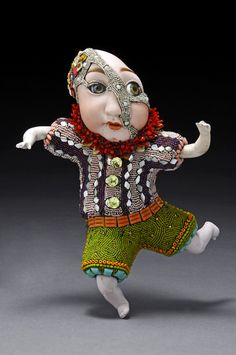 Unique beaded sculptures by Besty Youngquist | Beads Magic