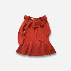 Manches Longues En Tricot Pull Bé Knit Sweater Dress, Sweater Shop, Girls Sweaters, Baby Sweaters, Baby Girl Tutu, Girls Tutu Dresses, Kids Boutique, Ruffle Dress, Girl Outfits