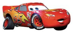 RoomMates RMK1518GM Disney Pixar Cars Lightning McQueen Peel & Stick Giant Wall Decal by RoomMates, http://www.amazon.com/dp/B004AZ1LA4/ref=cm_sw_r_pi_dp_sMifqb0SP95JD