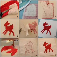 Step by step - How to applique || Molly and Mama