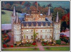 Inveraray Castle is an estate house near Inveraray in the county of Argyll, in western Scotland, on the shore of Loch Fyne, Scotland's longest sea loch. It has been the seat of the Duke of Argyll, chief of Clan Campbell since the 17th century
