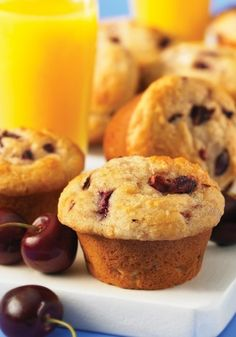 Ingredients, Inc.Gluten-Free Fresh Cherry and Almond Muffins & Gluten-Free Muffin Cookbook Giveaway » Ingredients, Inc.