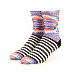 Stance Wild Adobe Tribal & Stripe Crew Socks