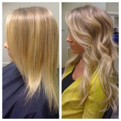 So.Cap. Hair Extensions before/after by Kelly @ Studio 8.. www.studio8salon.com