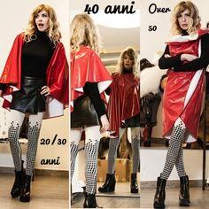MODA LIBERA TUTTE!  Il Cerchio: 1Dress@Infinity Look #FashionFreedom http://shop.sabrinattiani.com/shop/capispalla-outerwear-coat/raincoatcircle-lite/