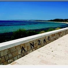 Anzac Cove... I want to be there for the 100th anniversary of the ANZAC landing... 25 April 2015