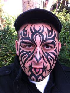 Face painter, Ronnie Mena Art, Studio City, LA, CA