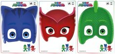 Looking for PJ Masks Games & Activities? Print out these Owlette, Gekko, and Catboy masks free! Pj Masks Pinata, Festa Pj Masks, Pj Masks Costume, Pj Masks Games, Pj Max, Pj Masks Printable, Mask Party, 3rd Birthday Parties, 2nd Birthday