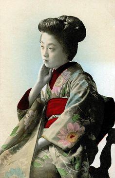 Himawari Kimono 1905 by Blue Ruin1, via Flickr