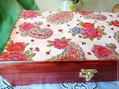 Caixões feitos à mão.  Mestres Fair - caixão handmade conto oriental.  Handmade.