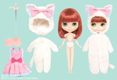 meowsy wowsy blythe  - on her way to my house!