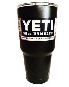 Glitter Coated Yeti Stainless Steel 20 Oz Rambler