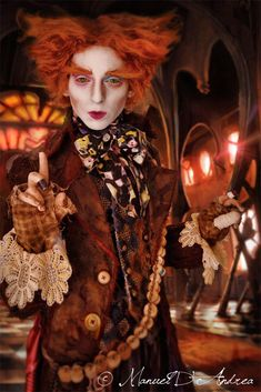 Incredible Tim Burton style Mad Hatter cosplay! - 10 Mad Hatter Cosplays