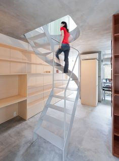 Diseñando escaleras.