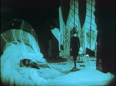 The Reluctant Human - geekyvamp: The Cabinet of Dr Caligari (Wiene,. Dr Caligari, Silent Horror, Silent Film, German Expressionism Film, Tv Movie, Scenic Design, Horror Films, Film Stills, Cinematography