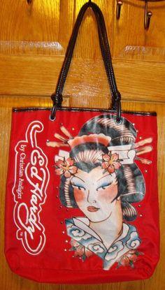 37a60faf28c5 Ed Hardy tote Bag  EdHardy  TotesShoppers Tote Bag