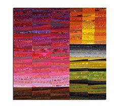 """Quilted wall hanging. Contemporary art quilt. 45x45"""" Abstract textile art. Art quilt. Modern art. Pieced and quilted. Minimalist. Fiber art. by AnnBrauer on Etsy"""