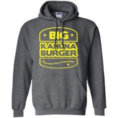 Big Kahuna Burger T Shirt Pulp Fiction-01 Pullover Hoodie 8 oz