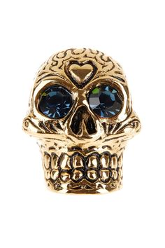 Sugar Skull Ring//  To wear when the time is right...