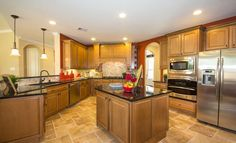 Kitchen - Wentworth Collection by Village Builders, a Lennar luxury brand