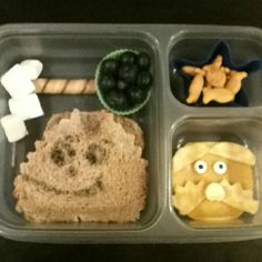 Lorax Bento - We saw the movie tonight and D. LOVED it.