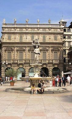 Piazza delle Erbe, the square with the daily market, and Juliet's house, with the lovely courtyard and famous balcony immortalized by Shakespeare's play, also merit a visit. Verona, Italy