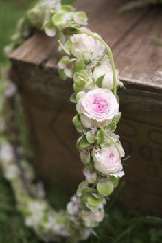 Blüten Haarkranz, flowercrown, Hannover Hochzeit