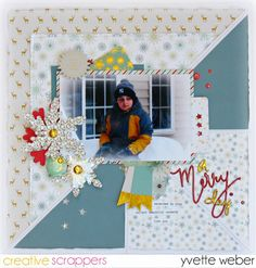 A Merry Day.... - Fancy Pants Design-Merry & Bright Collection,
