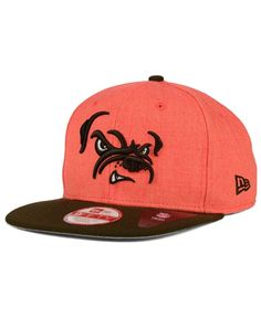 New Era Cleveland Browns Logo Grand 9FIFTY Snapback Cap