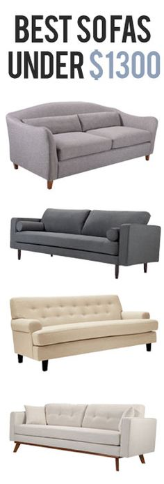 Modern Sofas | Up to 70% Off Retail at capsulehome.com