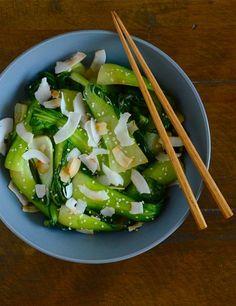 Coconut Bok Choy Stir-fry