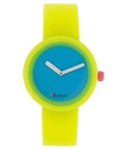 O'Clock Silicone Yellow Watch  SGD$76.91NOW SGD$53.84