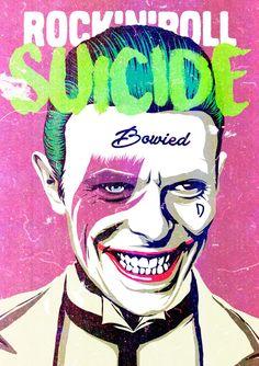 Bowie Joker by Bucher Billy