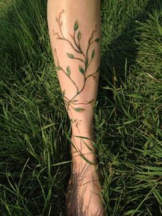 Not on my leg... but perhaps a continuation of my tree?