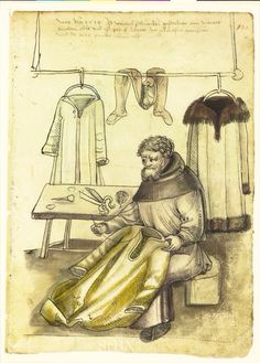 TailleurAmb. 317.2° Folio 130 recto (Mendel I) : 1514