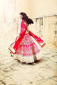 Indian Wedding Dress...I've always wanted to go to one