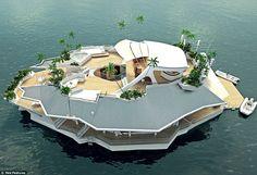 Osros – Une île de luxe flottante