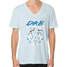 Dab On Em shirt V-Neck (on man) Shirt