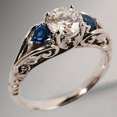 100 Antique And Unique Vintage Engagement Rings (166) #vintageengagementrings